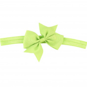 Shuohu Baby Girl Solid Colour Headband Cute Bowknot Bow Hair Band Gift