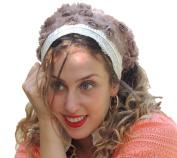 Sara Attali Design Tichel Stunning Half Hair Covering Headscarf Headband One Size NOA Earth