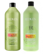 Redken Curvaceous Low-Foam Shampoo And Conditioner 1000ml