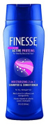 Finesse Moisturising 2-in-1 Shampoo & Conditioner 380ml (2 Pack) by Finesse