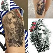 Sexy Body Art Temporary Tattoos Sticker Beauty Girl Designs Warterproof