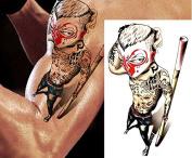 Temporary Tattoos Monkey Kung Fu Design Body Art Fake Tattoo Sticker Waterproof