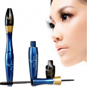 HUBEE 2 pcs / lot 3D Eyelash Fibre Mascara Makeup Removing Gel Natural Fibres Eyelashes Waterproof Cosmetics Eyes