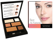 Giordano Colours Face Au Natural Contour Palette, 32 Gramme