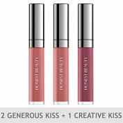 Honest Beauty Lip Gloss Trios 2 Generous Kiss & 1 Creative Kiss