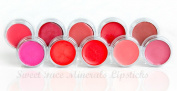 LIPSTICK KIT Lipkit Mineral Makeup Lip Gloss Liner Long Lasting Waterproof Bare Skin Cover Powder