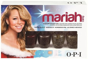 Mariah Carey Holiday Mini Lacquer Nail Polish 1-Set of 4 x .3700ml