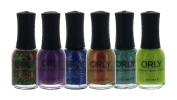 Orly Nail Polish Colour Lacquer Set 6-Piece Collection #48