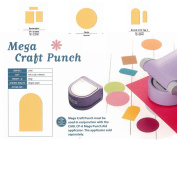 Carl CarlaCraft Mega Craft Punch - Rectangles