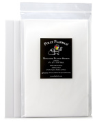Polly Plastics Heat Moldable Plastic Sheets - 3 Sheets, 8 x 12 x 1/16