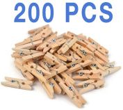 Mini Clothespins Craft Boutique, Wood Pack, Wooden Pins for Scrapbooking Wood Crafts