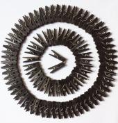 GCA DIY Wooden Pins for Scrapbooking Wood Crafts, Mini Clothespins 100 Per Pack 2.5cm (Black)