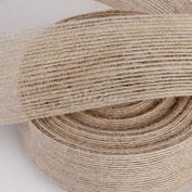 3.8cm (W) 10 Yard (L) Jute Burlap Ribbon Rustic Wedding Event Cake Topper Decor Handcraft DIY Wrapper Tool