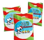 Peanuts Christmas Inspirational Party Large Goodie Bags