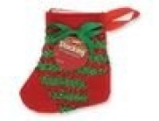 Red & Green Mini Stocking Gift Card Holder
