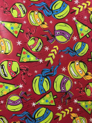Teenage Mutant Ninja Turtles TMNT Christmas Wrapping Paper