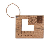 Retromantic Fripperies Corner Gauge Fob
