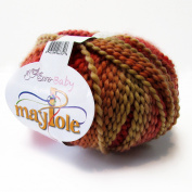 Euro-Baby Maypole Yarn Colour # 10 Fuschia Coral Red