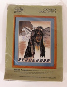 Counted Cross Stitch Kit # 50414 Indian Maiden