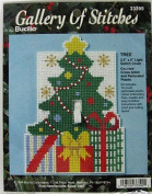 Christmas Tree Counted Cross Stitch Light Switch Cover