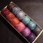 "Valdani Size 8 Perle Cotton Embroidery Thread ""Mystic Twilight"" Collection"