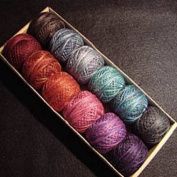 "Valdani Size 8 Perle Cotton Embroidery Thread ""Mystic Twilight"" Collection"