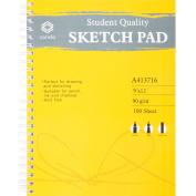 Conda Sketch Spiral Paper Pad 23cm x 30cm -100 Sheets