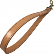 The Everyday Collection - 1.3cm Wide Camel Wristlet Purse Strap