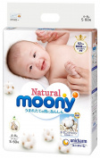 Natural Mooney(Organic cotton) S size 60 pieces (tape type)-disposable-