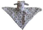 Blankets & Beyond Baby Puppy White Dog Grey White Ring Blanket Nunu