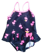 Infant Baby Little Girls One Piece Swimwear Duck Swimsuit
