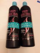 2x Total - Salon Selectives Argan Oil From Morocco Colour Safe Moisturising Shampoo