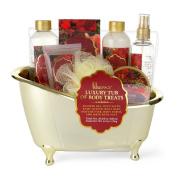 Luxury Tub of Body Treats - Winter Rose
