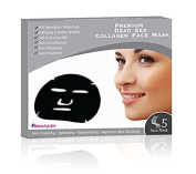Dead Sea Spa Skin Care Collagen Anti Ageing Facial Mask (Pack of 3 Boxes x 5 ea/Box = 15 Total Masks) Moisturising, Rejuvenating, Toning, Pore Minimising Acne Treatment