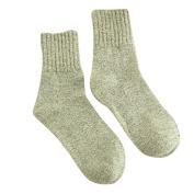 Sunfei Womens Pure Colour Cashmere Wool Thick Warm Socks Winter Fashion Striped Socks