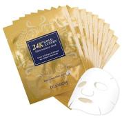 Elishacoy 24K Gold Luxury Ultra Moisture Mask Sheet 23g 10pcs Set