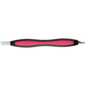 Home-X Soft Grip Cuticle Pusher and Nail Trimmer