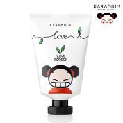 [KARADIUM] PUCCA LOVE EDITION Soft Hand Cream 60ml / Moisturising & Soothing Daily Hand Cream / Soft Sherbet Type