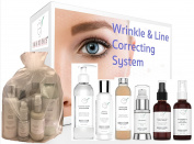 Wrinkle And Line Loving Skincare System - Have Less Noticeable Wrinkles By Tomorrow With This This Six Step Beauty Set - For Estheticians, Skincare Professionals Or For Home Use