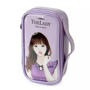 Portable Multi-Functional Cute Doll Pouch Cosmetic Makeup Bag Case Pencil Gift Case