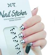 X.T Nail Polish Strips Cute Panda Nail Sticker