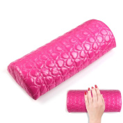 LKE Nail Art Pillow for Manicure Hand Arm Rest Pillow Cushion PU Leather Holder Soft Manicure Nail Tool Equipment