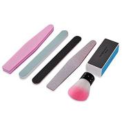 Biutee 6 Pcs/set Nail Art Buffer File Block Pedicure Manicure Buffing Sanding Polish Makeup Beauty Tools