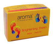 Aroma Treasures Brightening Sheen Manicure-Pedicure Care Kit-50ml