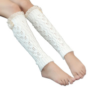 OVERMAL Women Lace Crochet Knit Leg Warmer Boot Socks Toppers Cuffs