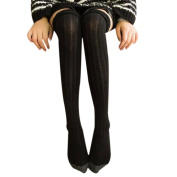 OVERMAL Women Winter Knitted Over Knee Long Boot Thigh-High Warm Socks Leggings