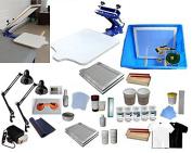 1 Colour Screen Printing Full Set Materials Kit 219001+006802