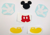 Disney Mickey Mouse Vinyl Decals - Remomvable | Car or Window Decal | Sticker