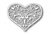 Tutti Designs Scrolly Heart Frame Cutting Die TUTT202
