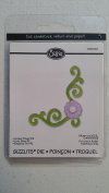 Sizzlits Corner Flower #2 Die 656368 for Sizzix Sidekick, BIGkick and Big Shot Machine
